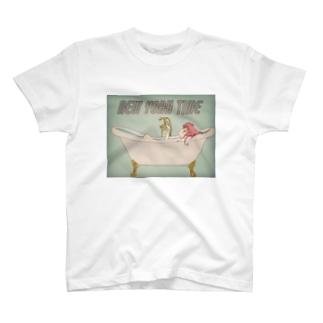 NEWYORK time(レトロチック) T-shirts