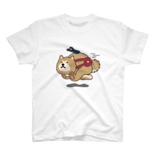 あっあっ秋田犬(郵便屋さん) T-Shirt