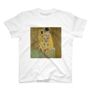 グスタフ・クリムト(Gustav Klimt) / 接吻(The Kiss) 1908 T-shirts