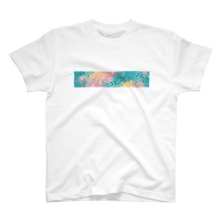 花柄 T-Shirt