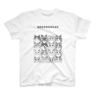 第8回同窓会/NEKONOOKAO/16CATS T-shirts