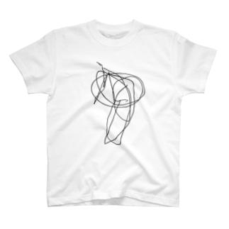 食べこぼしアートTシャツ T-shirts