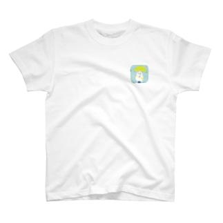 お天気雨☂️ 文鳥アップversion T-shirts