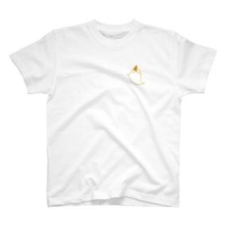或琴のとりおばけTシャツ T-shirts