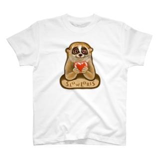 スローロリス SLOW LORIS T-shirts
