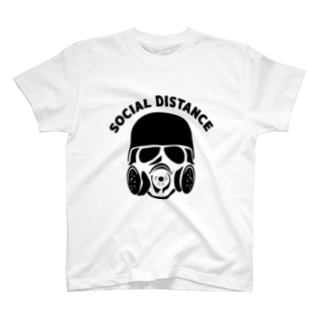 かっこいいソーシャルディスタンス T-Shirt