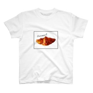 たゆたるのcroissant T-shirts