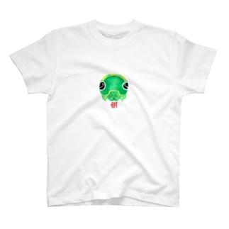 ナミアゲハ5齢 T-shirts