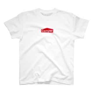 Camper by ソトリスト T-shirts