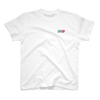 四角いグミ【ちょいビビッドカラー】 T-Shirt