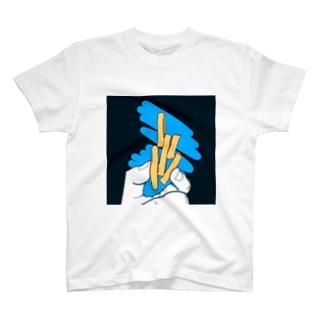 ポテト?芋けんぴ?芋けんぴ! T-shirts