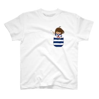 きのぽっくるとお出かけ T-shirts