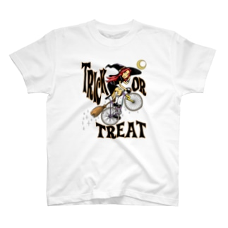 "nidan-illustrationの""TRICK OR TREAT"" T-Shirt"