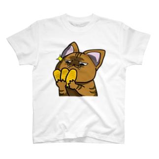 価値の分かる猫 T-shirts
