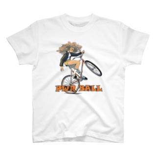 "nidan-illustrationの""PWR BALL"" T-Shirt"