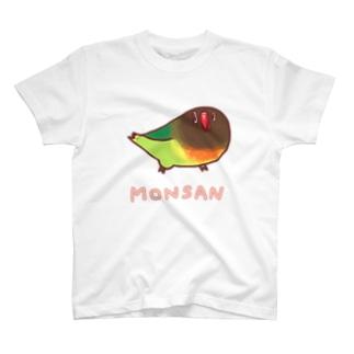 《MONSAN》ろこやま T-shirts