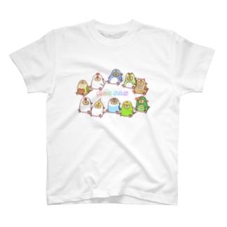 MONSAN SHOPの《MONSAN》きぐるみズ T-shirts