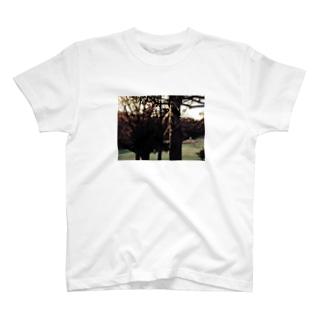 引っかかっているシリーズTシャツ T-shirts