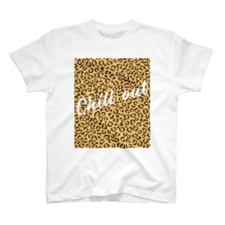 Chill out ヒョウ柄 T-shirts