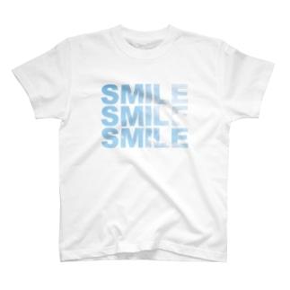 3SMILE_SKY00221 T-shirts