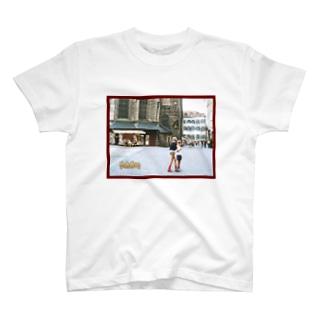 FUCHSGOLDのドイツ:ハイデルベルク旧市街 Germany: Old area of Heidelberg T-shirts