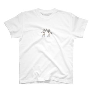 ニャンタッチ T-shirts