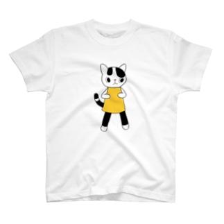ねこのうーちゃん T-shirts