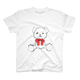 くま(しろ)🧸 T-shirts