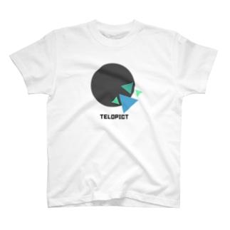 TELOPICT オリジナルロゴTシャツ 【Mint】 T-shirts