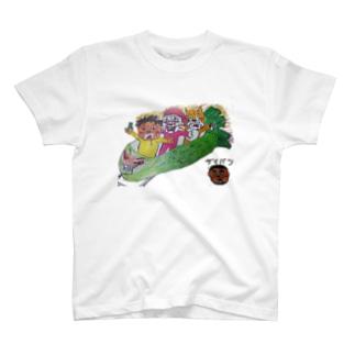 わさびジェットコースター T-shirts