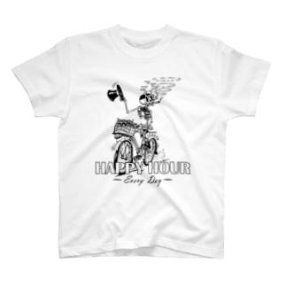 """""""HAPPY HOUR""""(B&W) #1 T-Shirt"""