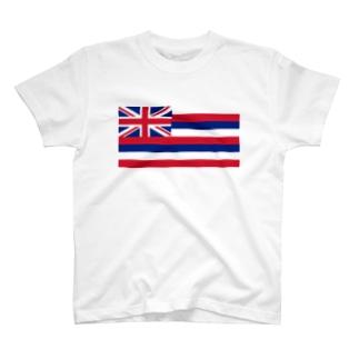 ハワイ州旗 T-shirts