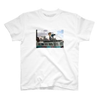ミスターフィギュア取材 T-shirts