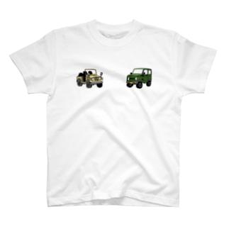 ジムニーおじいちゃんズマグカップ T-shirts