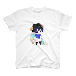 2頭身かじゅたんシリーズ T-shirts