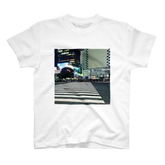 渋谷スクランブル交差点 T-shirts