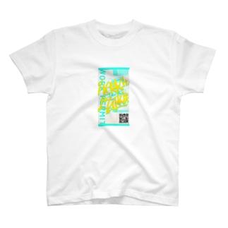 Work it like a I talk it きいろ T-shirts