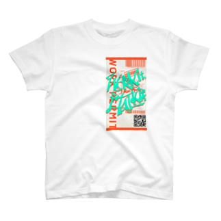 Work it like a I talk itのおれんじ T-shirts