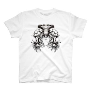 MAYUGENEKOpresentsの平将門 . T-shirts