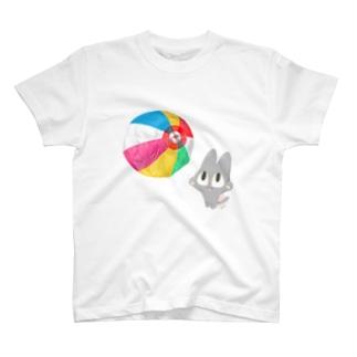 紙ふうせんとロイ T-shirts