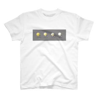 苔ttish!! feat.|neoFactoryの電飾虫 T-shirts