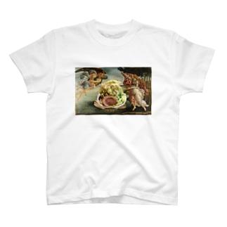 【名画ドカ盛り】マシマシの誕生 T-shirts