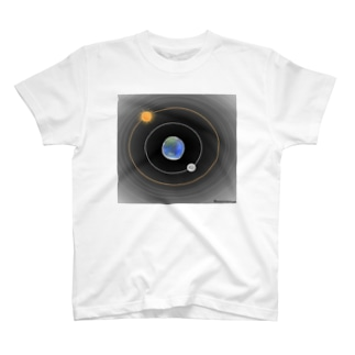 天動説 T-shirts