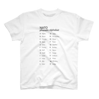NATOフォネティックコード T-shirts
