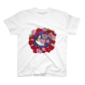 イチゴ大好き♡イタ子ちゃん T-shirts
