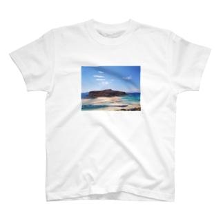 Balos Lagoon T-shirts