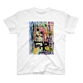 Tomoya Satoのrich quick dream/少女の夢 T-shirts