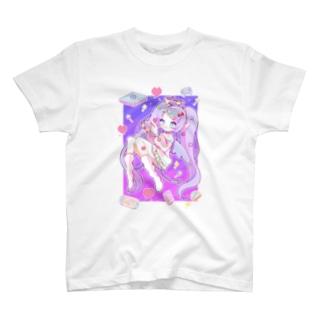 ゲームなぐーだらく天使ちゃん T-shirts
