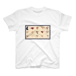 にゃんとクレープ T-shirts