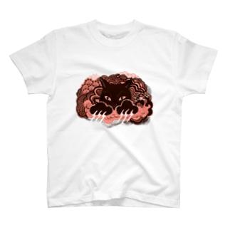 爪が稲妻 ピンク T-Shirt